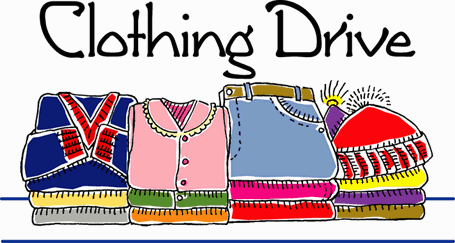 SPRING COMMUNITY CLOTHING DRIVE