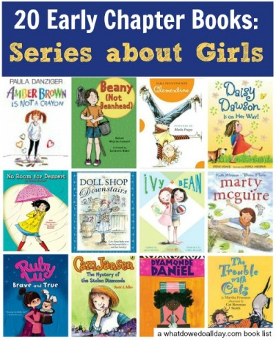 Early Chapter Book Series For Girls