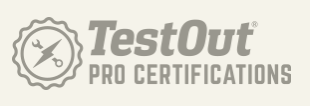 TestOut Pro Certifications Icon