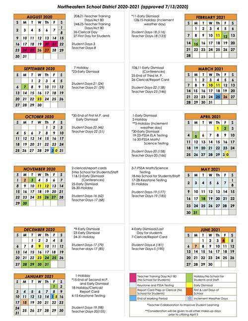 Amarillo Isd Calendar 2021-2022 District Calendar / 2020 2021 Calendar (at a Glance)